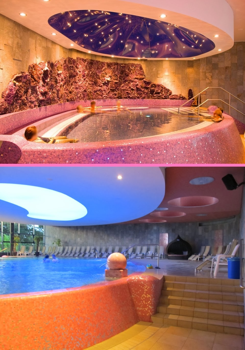 sparkling neko world huge crystal indoor pool miramar happy winter time with my boyfriend. Black Bedroom Furniture Sets. Home Design Ideas