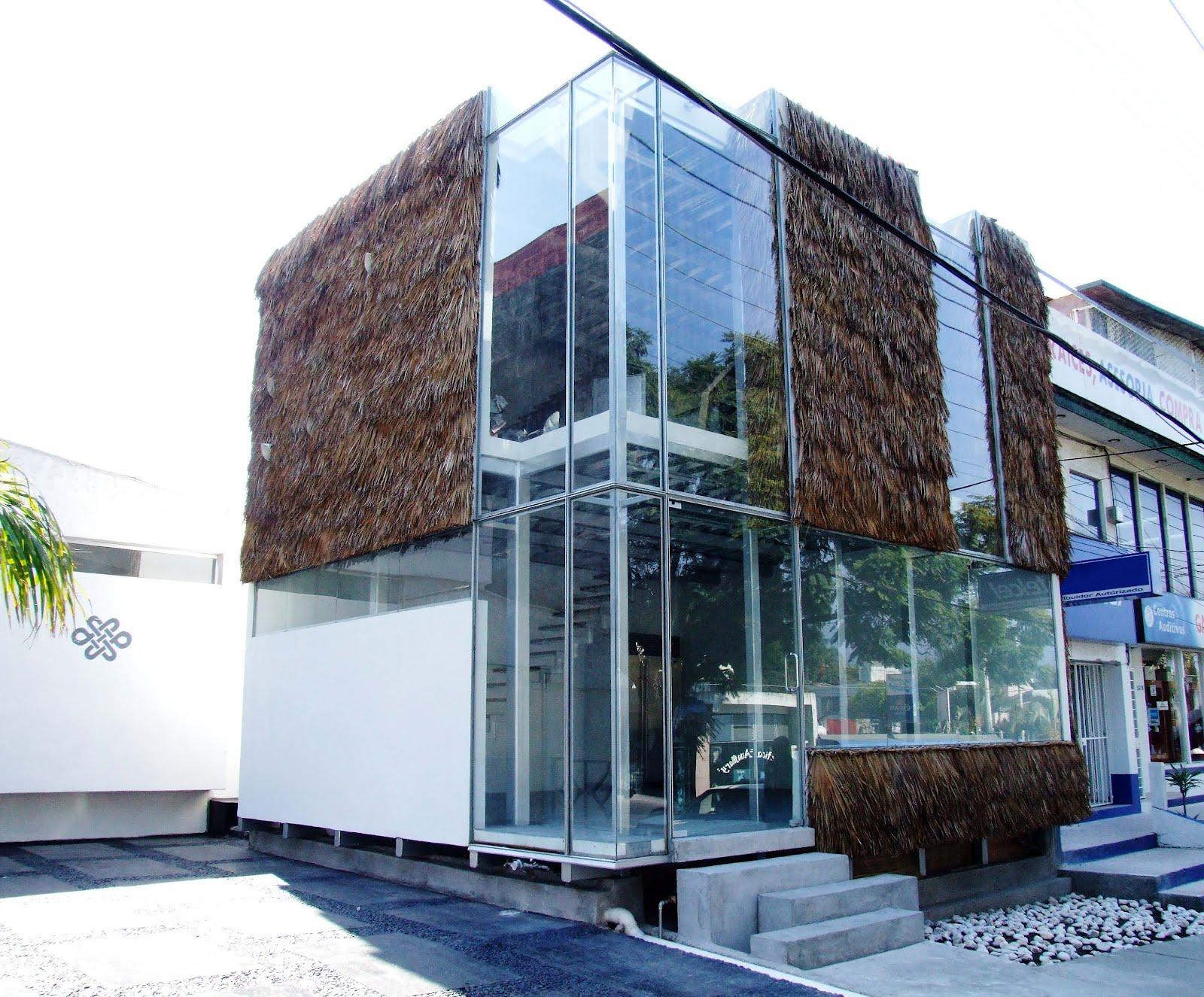 Habitar petatglass Modelo de casa con local comercial