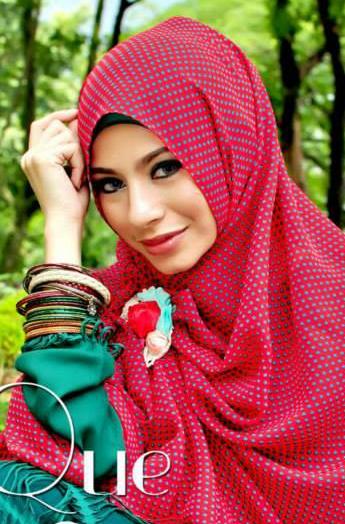 Koleksi Model Hijab Modern Kebaya