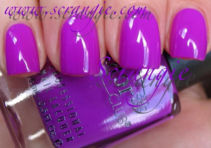 Color Club Gimme A Grape Big Kiss - Scented Nail Polish, Free ...