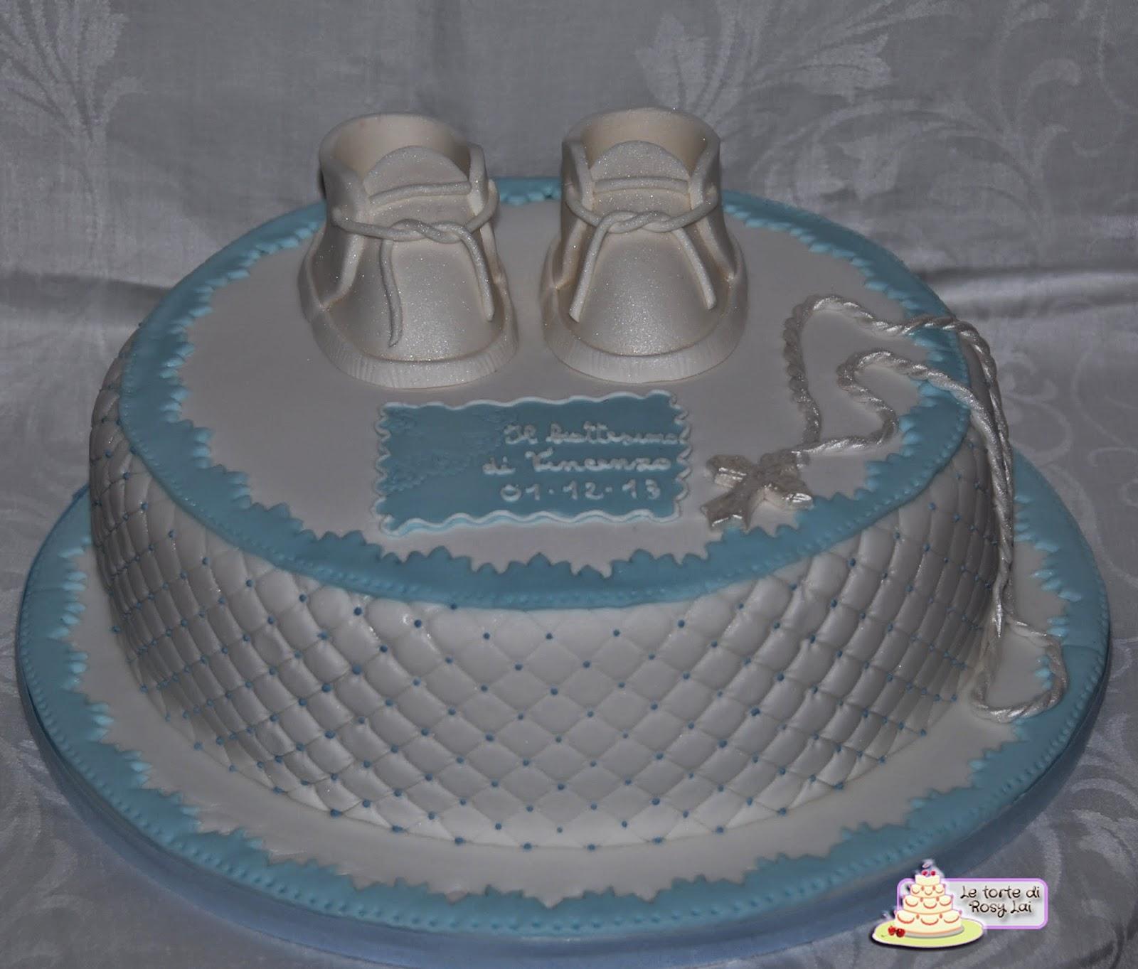 Le torte di rosy lai il battesimo vincenzo