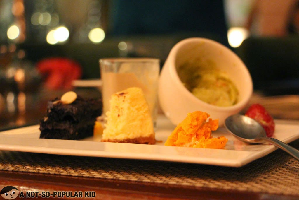 Dessert plate in Corniche (Diamond Hotel)