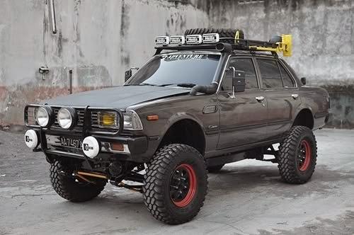Modifikasi Mobil Offroad Toyota Corona