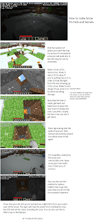 Minecraft How to build Snowtraps