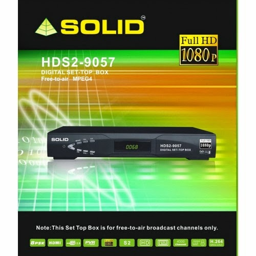 SOLID Launched Full HD Set-Top Box HDS2-9057 for DD Freedish DTH