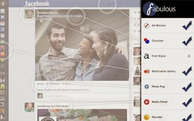facebook fabulous chrome extension pic