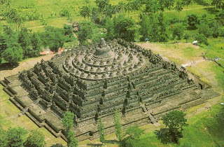 Candi Borobudur, Budha temple