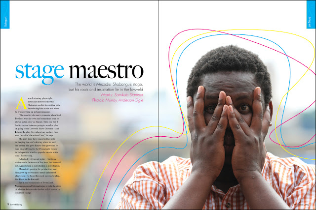 issue 32 - living art - mncedisi shabangu - lowveld living - charlotte senini