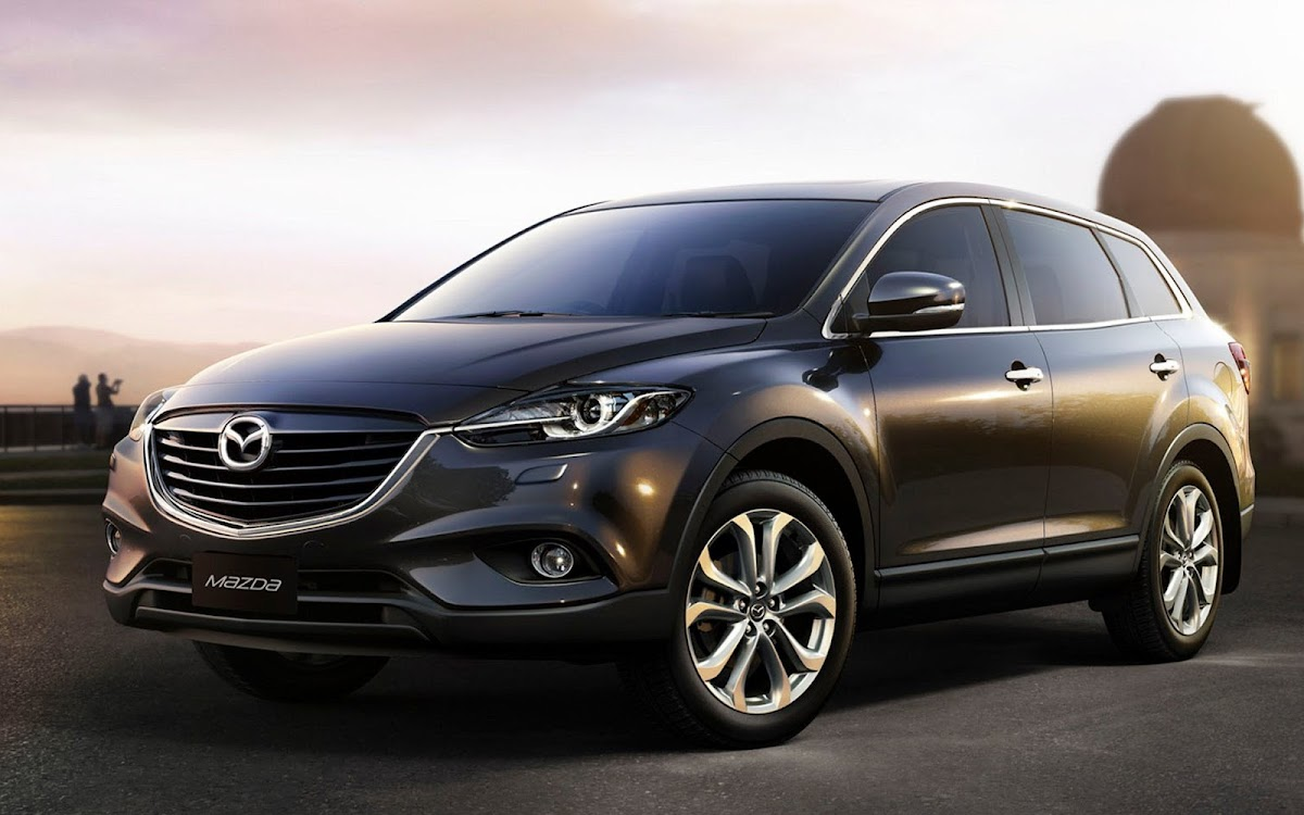 2013 Mazda CX 9 Widescreen HD Wallpaper 2