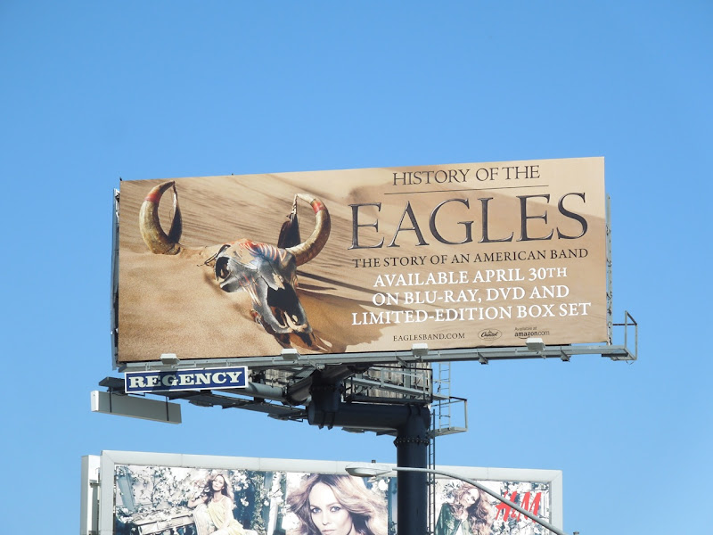 Eagles Bluray billboard