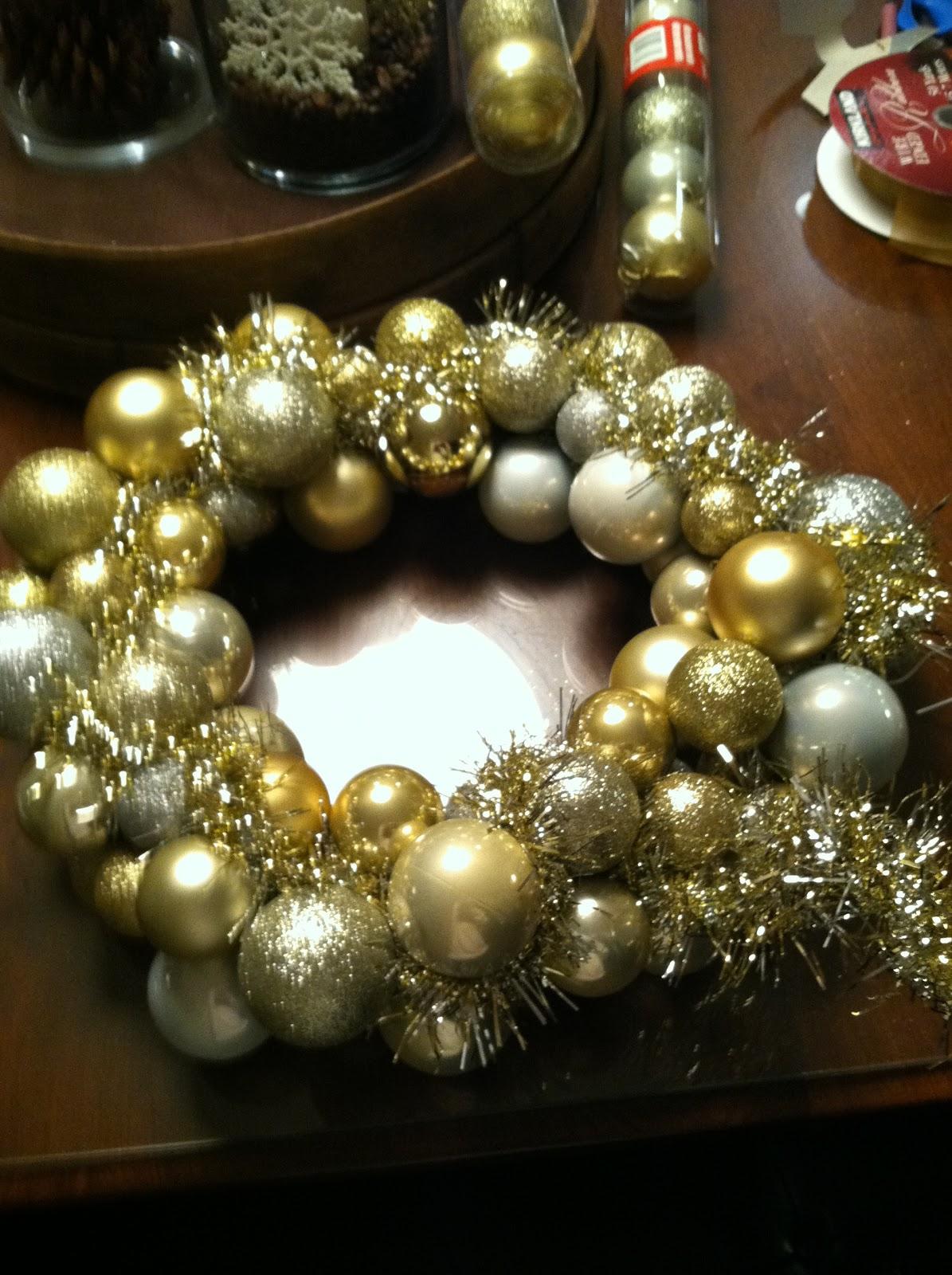 Tinsel Filler For Christmas Wreath