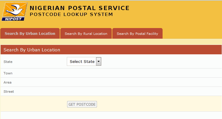 Image result for postal or zip code of states in nigeria