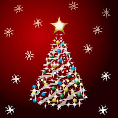 Arbolito de Navidad con esferas