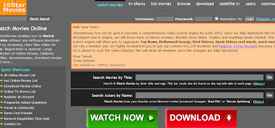 all movies search engine list