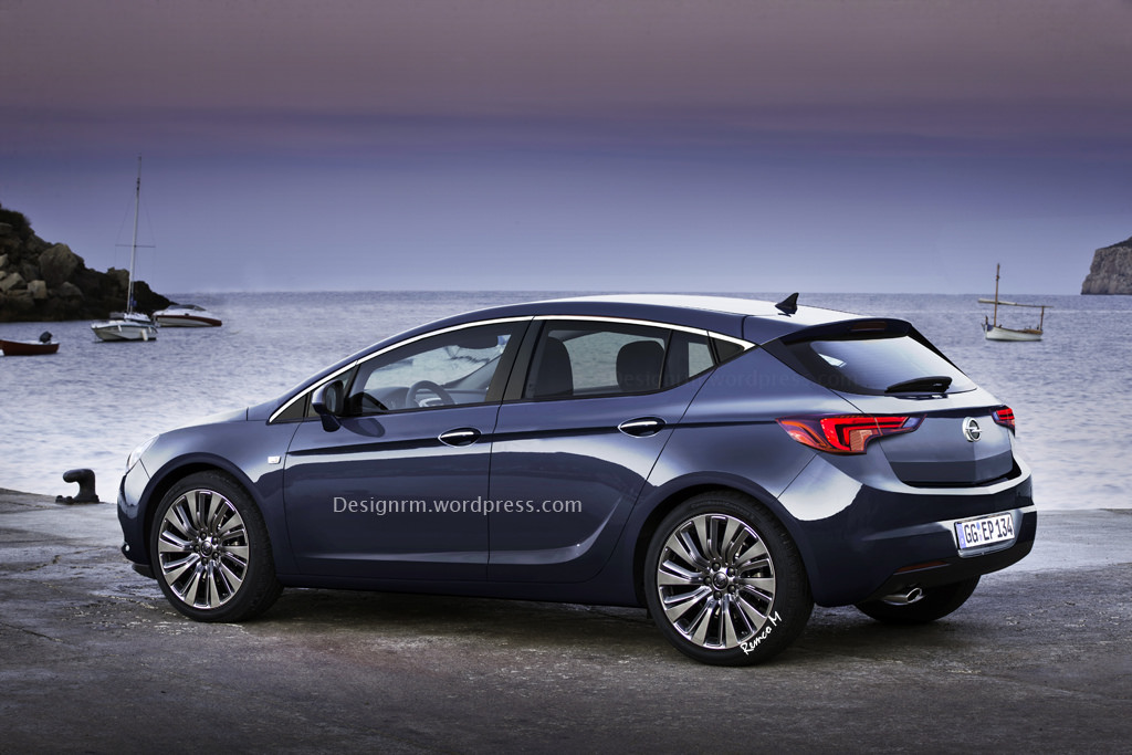 New Opel And Vauxhall Astra Hatch Realistically Rendered
