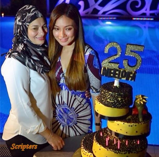 Neelofa Sambut Hari Ulang Tahun Ke 25