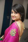Priyanka Gorgeous Photos in Saree-thumbnail-13