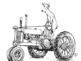 John Deere Tractor Colouring Pages