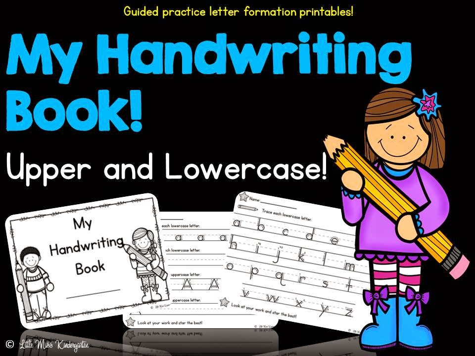 http://www.teacherspayteachers.com/Product/My-Handwriting-Book-1383769