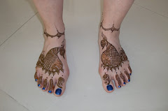 Peacock feet!