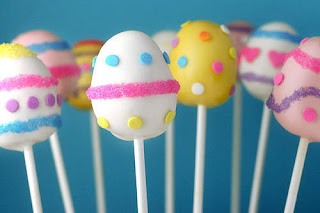 Delicious Easter Egg Cake Pops Image