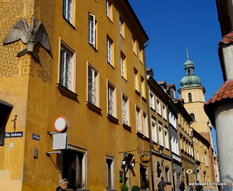 ulica Stare Miasto kamienice stolica