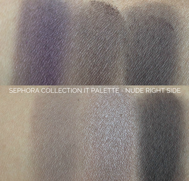 sephora collection it palette nude swatches