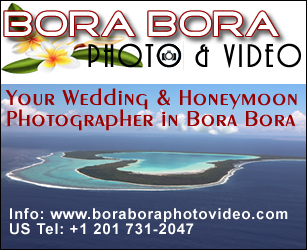 Bora Bora Wedding Photographer - Weddings & Honeymoon photography in Bora Bora