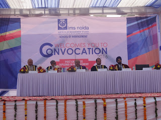 IMS Noida holds Convocation ceremony; Gives Out Degrees to 200 students