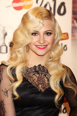 Pixie Lott Style Long Hairstyles