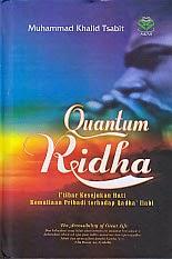 toko buku rahma: buku QUANTUM RIDHA, pengarang khalid tsabit, penerbit amzah