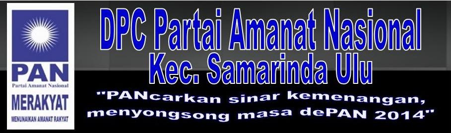 DPC PAN Kec. Samarinda Ulu
