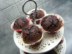 beetroot and chocolate muffins
