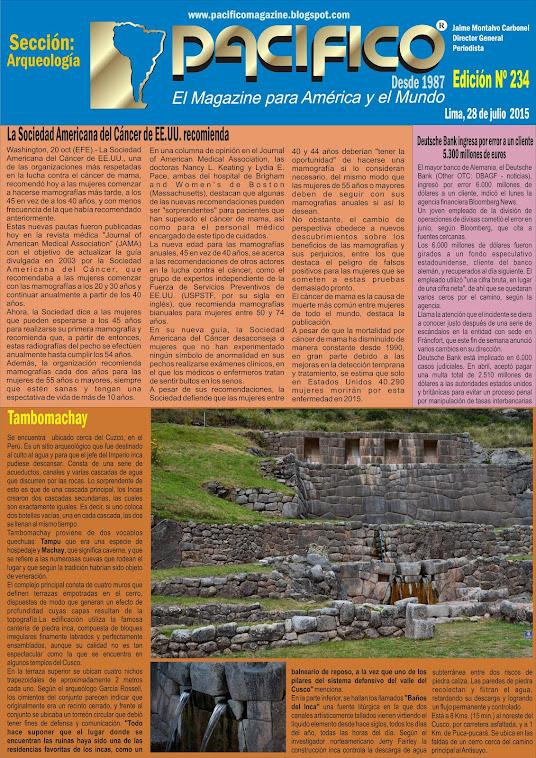Revista Pacífico Nº 234 Arqueología