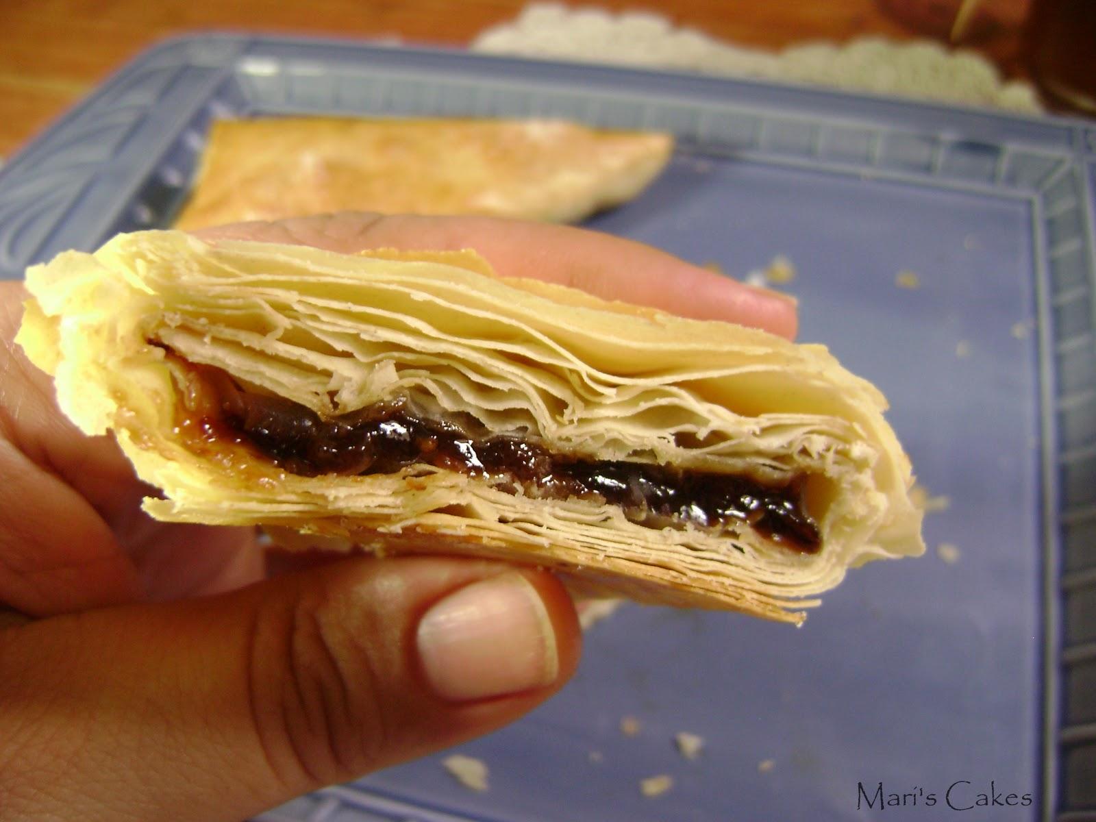 Turnovers With Phyllo Dough Mari S Cakes English