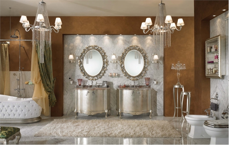 Luxury and elegant interior designs bathroom interior car led lights - Luxury bathroom interiors ...