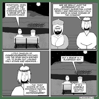 jesus&mo:  atoms