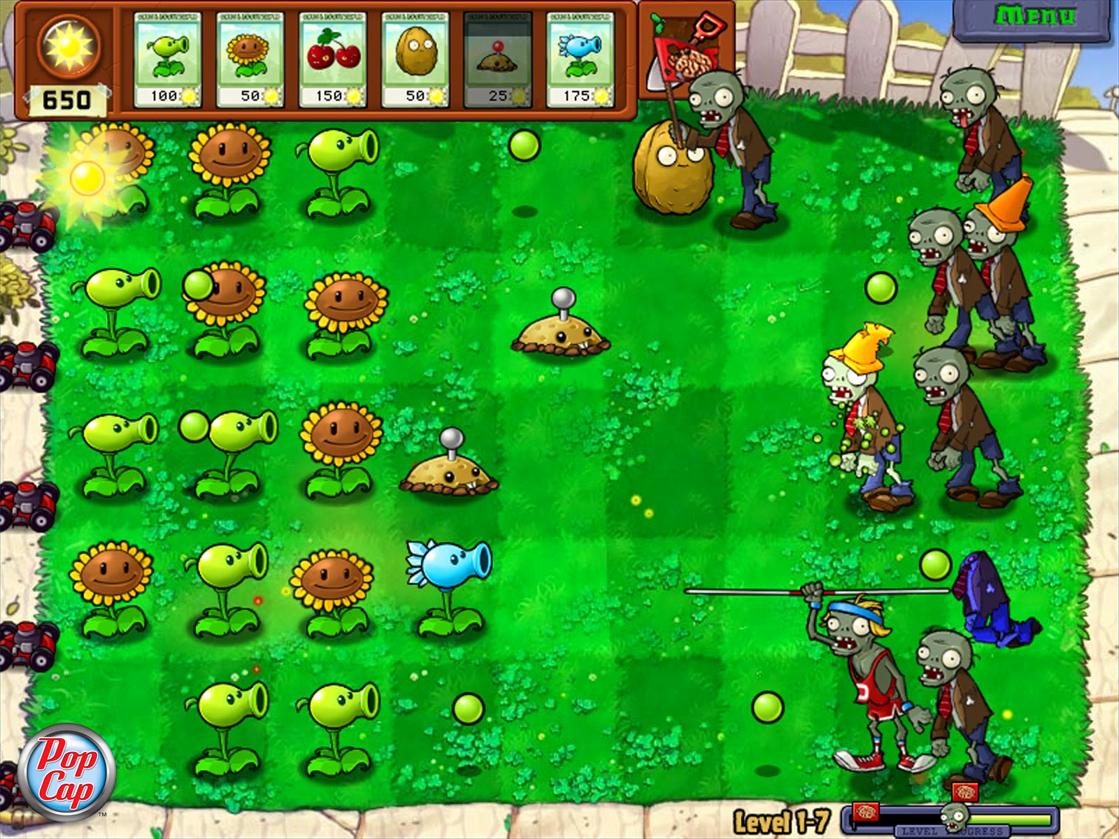 Plants vs zombies PC game Download