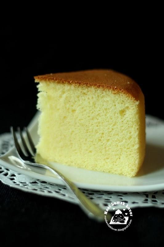 All Butter Sponge Cake Recipe