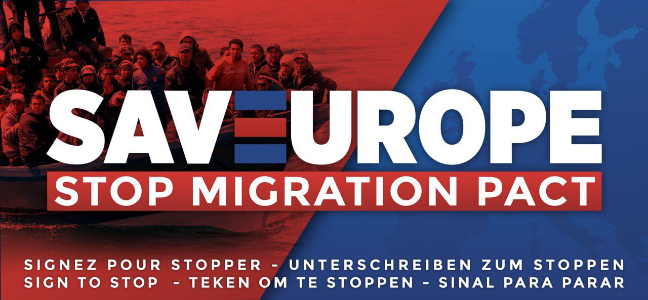 Assine a Petição: Diga NÃO à submersão migratória