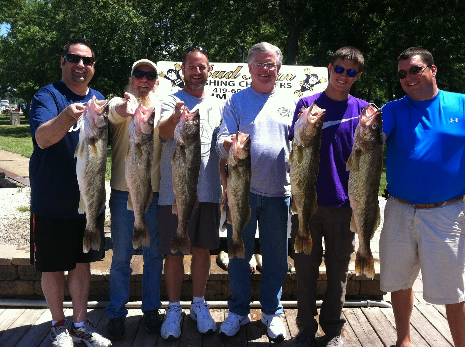 Lake erie walleye fishing reports west of huron dump for Lake erie walleye fishing report