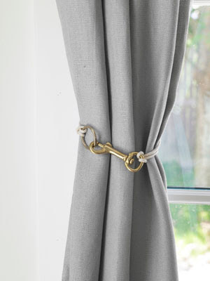 Curtains Ideas curtain hook tie backs : Unique Drapery Tiebacks | Driven by Decor