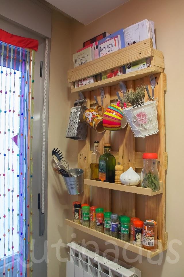 La tienda de la tia tota diy estante para especias hecho - Estanteria para especias ikea ...