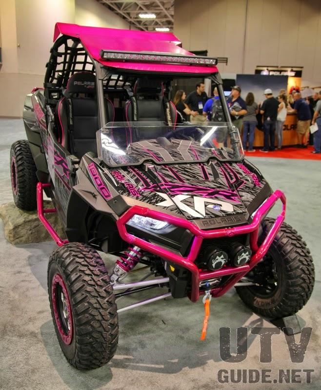 pink RZR XP 1000
