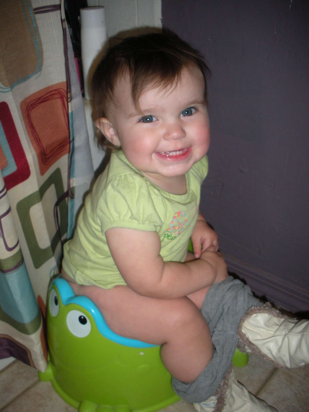 Olive Baby Olive On The Potty