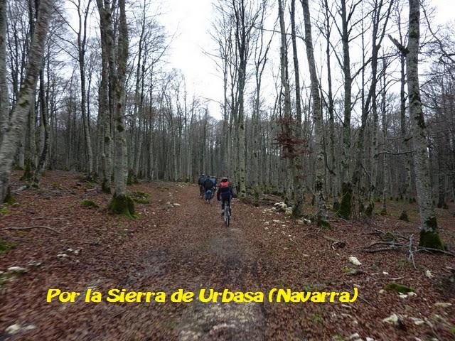 Por la Sierra de Urbasa (Navarra)
