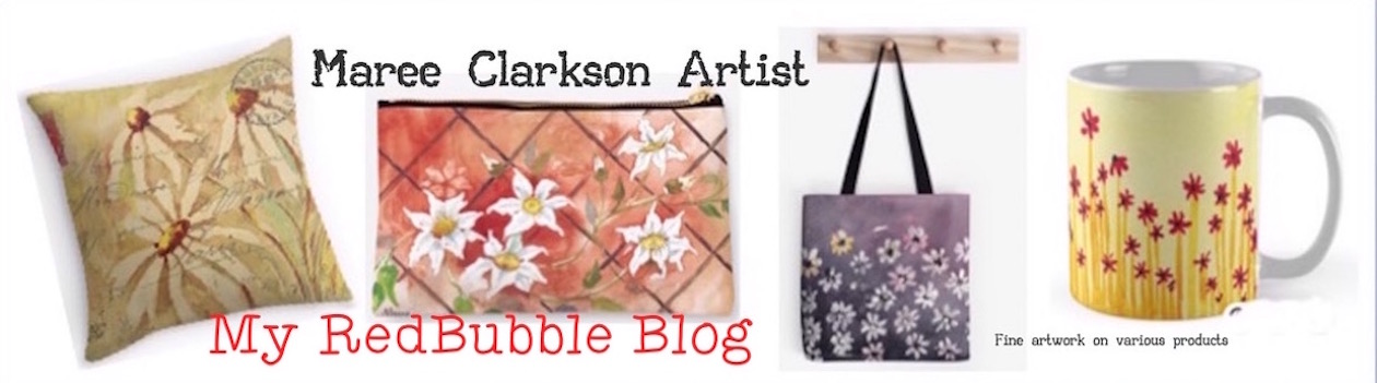 Maree's RedBubble blog