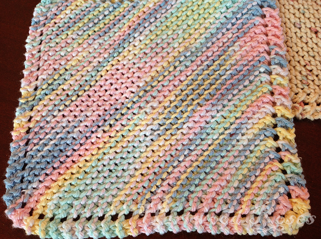 Hartwood Roses Feeling Crafty Knitting Dishcloths