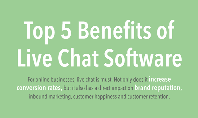 5 Benefits of Live Chat Software