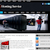Thêm mẫu Hosting Service Blogger Template cho blog